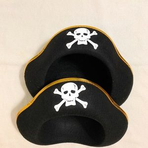 2 adult pirate hats new